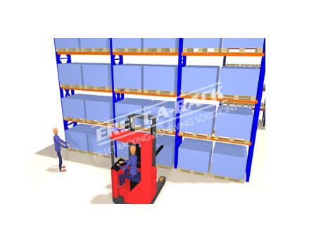 3d design shelving racking 1 for Warehouse racking layout software free