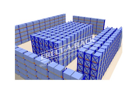 3d design shelving racking 3 for Warehouse racking layout software free