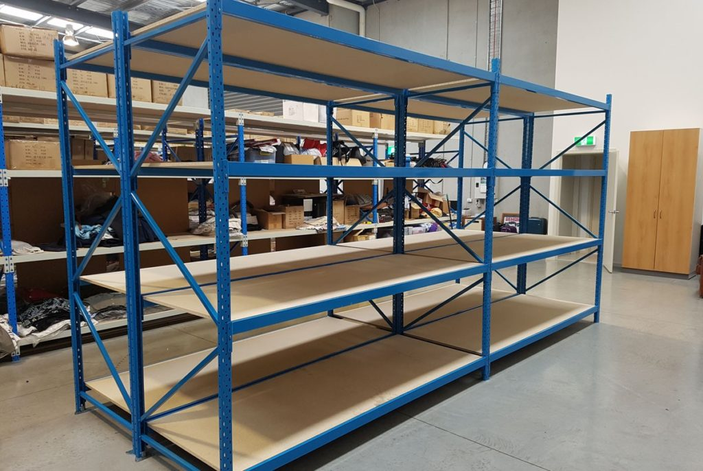 Long Span Shelving Storage Perth