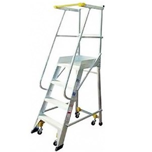 Materials Handling Picker Platform Ladders