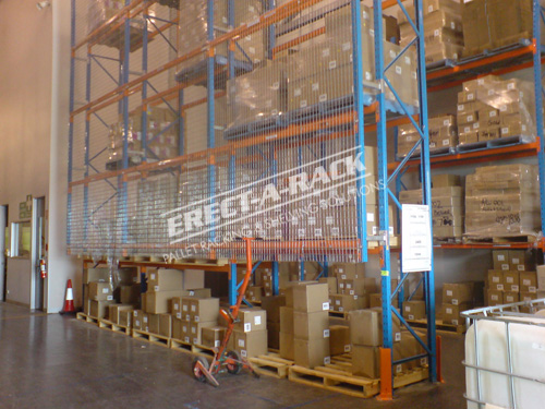 Industrial Safety Fence Pallet Racking Safety Barriers