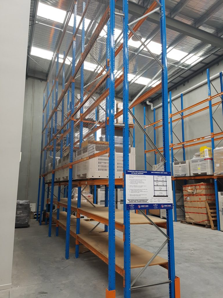 Erect-A-Rack Industrial Safety Barriers
