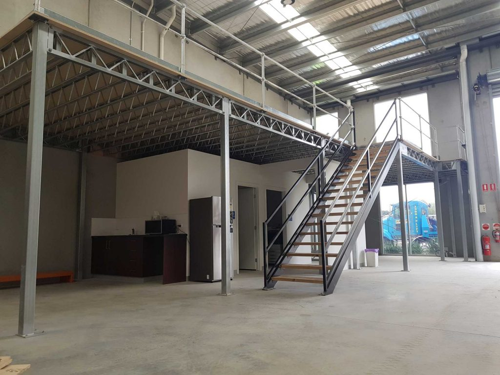 Raised Storage Mezzanine Floors
