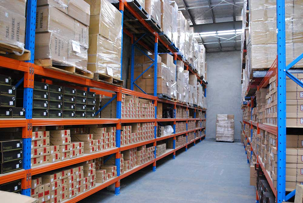 Selective Pallet Racking Systems Aisle