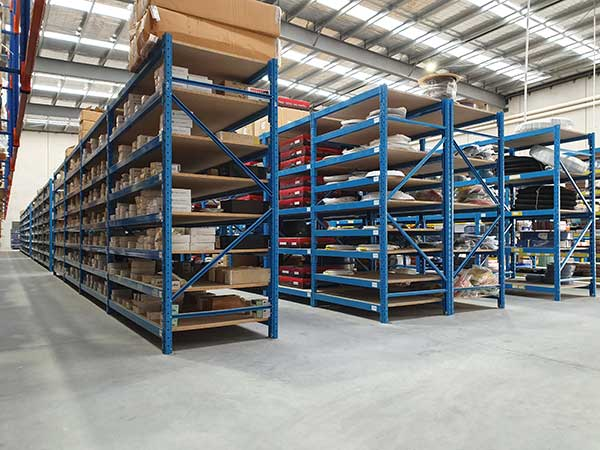 Highly Durable Industrial Shelving Units