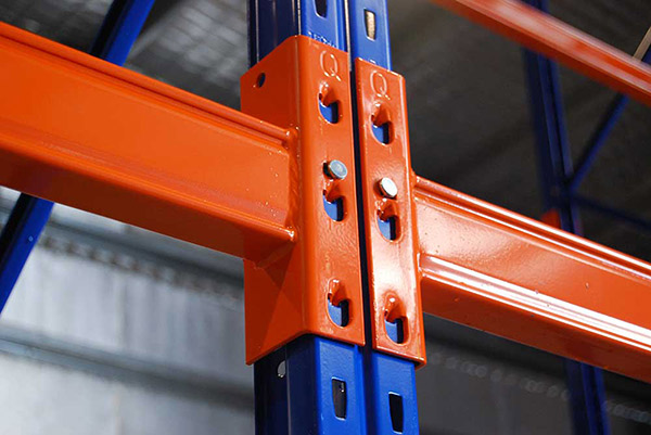 Safety Lock Pallet Rack System